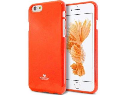 Ochranný kryt pro iPhone 6 / 6S - Mercury, Fluorscence Jelly Orange