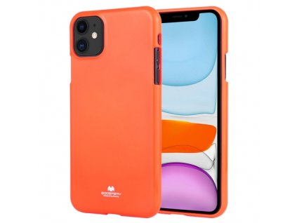 Ochranný kryt pro iPhone 11 - Mercury, Fluorscence Jelly Orange