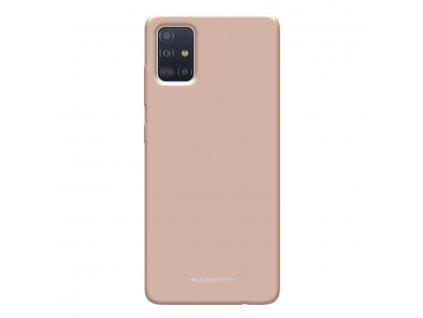 Ochranný kryt na Samsung GALAXY A71 A715F - Mercury, Soft Feeling Pink Sand