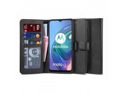 Ochranné pouzdro pro Motorola Moto G10 / G30 - Tech-Protect, Wallet 2 Black