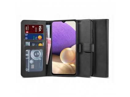 Ochranné pouzdro pro Samsung Galaxy A32 LTE - Tech-Protect, Wallet 2 Black
