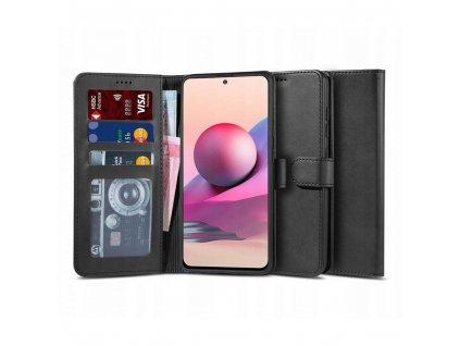 Ochranné pouzdro pro Xiaomi Redmi Note 10 / 10S - Tech-Protect, Wallet 2 Black