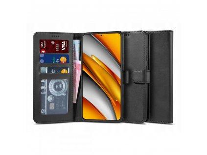 Ochranné pouzdro na Xiaomi Poco F3 / Mi 11i - Tech-Protect, Wallet 2 Black