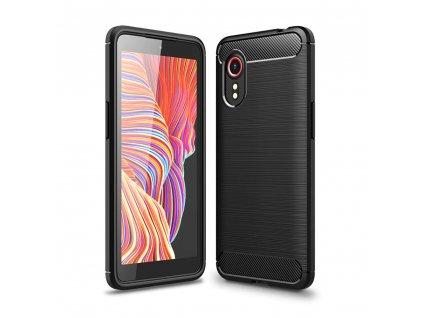 Ochranný kryt pro Samsung Galaxy Xcover 5 - Tech-Protect, Tpucarbon Black