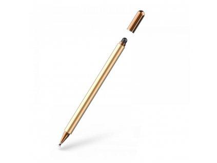 Dotykové pero / stylus - Tech-Protect, Charms Champagne/Gold