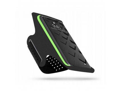 Sportovní pouzdro na mobil - Tech-Protect, G10 Universal Sport Armband Lime