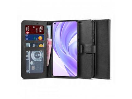 Ochranné pouzdro na Xiaomi Mi 11 Lite - Tech-Protect, Wallet 2 Black