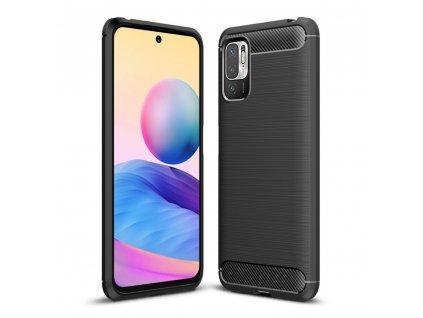 Ochranný kryt pro Xiaomi Poco M3 Pro 5G / Redmi Note 10 5G - Tech-Protect, Tpucarbon Black