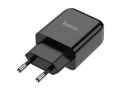 Nabíjecí USB adaptér do sítě - Hoco, N2 Vigour Black