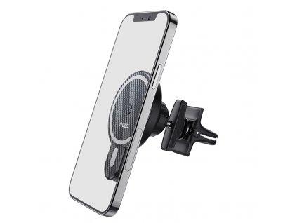 Bezdrátová rychlá nabíječka / držák do auta pro iPhone 12 - Hoco, CA85 Ultrafast with MagSafe