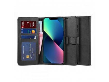 Ochranné pouzdro pro iPhone 13 - Tech-Protect, Wallet 2 Black