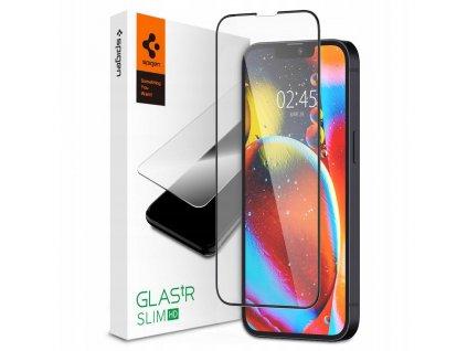 Ochranné tvrzené sklo pro iPhone 13 mini - Spigen, Glass FC