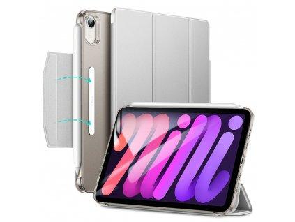 Ochranné pouzdro pro iPad mini 6 - ESR, Ascend Trifold Silver Gray
