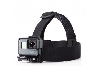 Čelenka na hlavu pro GoPro HERO - Tech-Protect, Headstrap Black