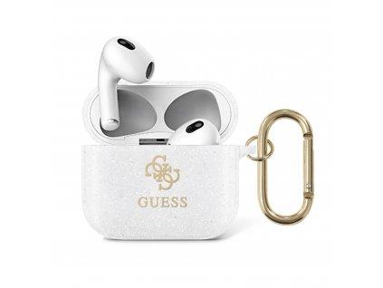 Pouzdro na sluchátka AirPods 3 - Guess, 4G TPU Glitter