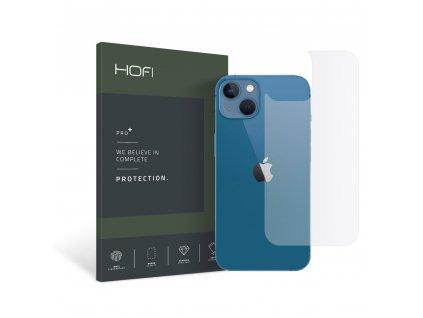 Hybridní ochranné sklo na zadní stranu iPhone 13 mini - Hofi, Glass Pro+