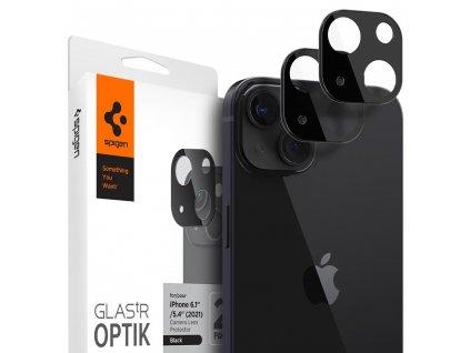 Ochranné sklo na zadní kameru iPhone 13 mini / iPhone 13 - Spigen, Optik Lens (2ks)