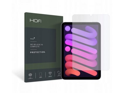 Hybridní ochranné sklo na iPad mini 6 - Hofi, Glass Pro+