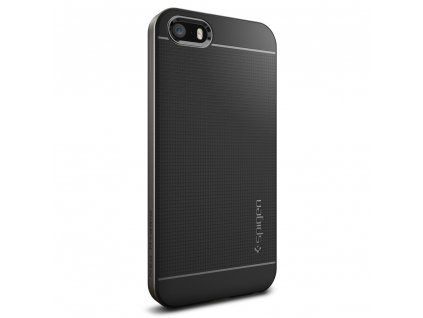 Pouzdro / kryt pro Apple iPhone 5 / 5S / SE - Spigen, Neo Hybrid Gunmetal