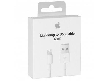 Originální kabel - Apple, USB-A/Lightning 200cm