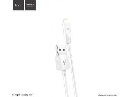 Kabel USB-A/Lightning pro iPhone a iPad - Hoco, X1 White 200cm