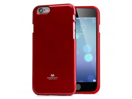 Pouzdro / kryt pro Apple iPhone 6 / 6S - Mercury, Jelly Case Red