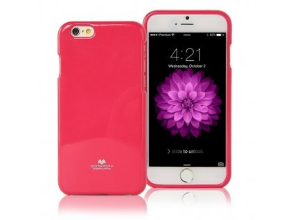Pouzdro / kryt pro Apple iPhone 6 / 6S - Mercury, Jelly Case Hotpink
