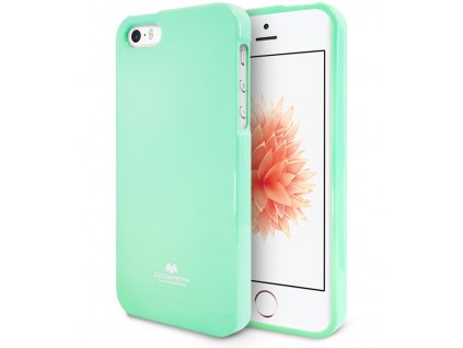 Pouzdro / kryt pro Apple iPhone 5 / 5S / SE - Mercury, Jelly Case Mint