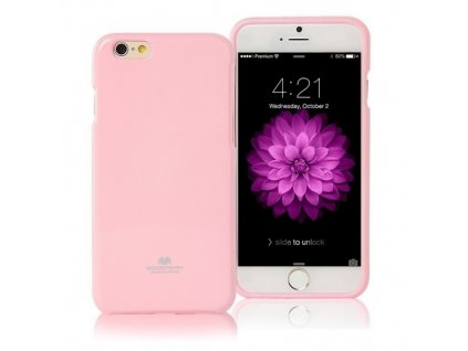Pouzdro / kryt pro Apple iPhone 7 / 8 / SE (2020) - Mercury, Jelly Case Pink