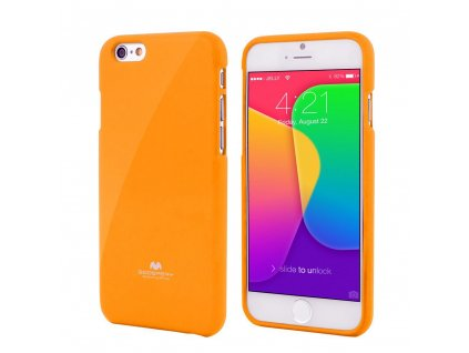Kryt pro iPhone 7 / 8 / SE (2020) - Mercury, Jelly Case Yellow