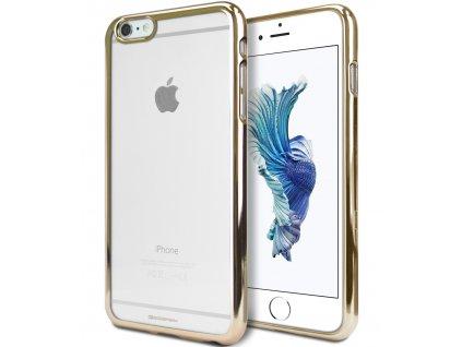 Pouzdro / kryt pro Apple iPhone 6 / 6S - Mercury, Ring2 Gold
