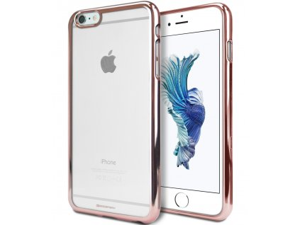 Pouzdro / kryt pro Apple iPhone 6 / 6S - Mercury, Ring2 Rose Gold