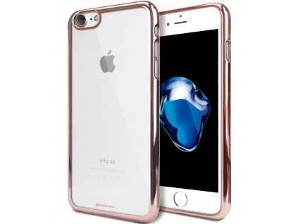 Pouzdro / kryt pro Apple iPhone 7 / 8 / SE (2020) - Mercury, Ring2 Rose Gold