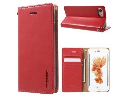 Pouzdro / kryt pro iPhone 7 / 8 / SE (2020) - Mercury, Bluemoon Flip Red