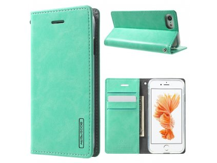Pouzdro / kryt pro iPhone 7 / 8 / SE (2020) - Mercury, Bluemoon Flip Mint