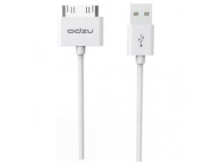 Synchronizační a nabíjecí kabel pro iPhone 4 / 4S a iPad 2 / 3 - Odzu, Cable 30pin