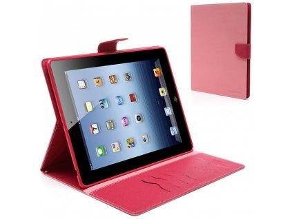 Pouzdro / kryt pro Apple iPad 2 / 3 / 4 - Mercury, Fancy Diary Pink/Hotpink