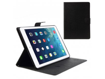 Pouzdro / kryt pro Apple iPad Air 1 - Mercury, Fancy Diary Black/Black