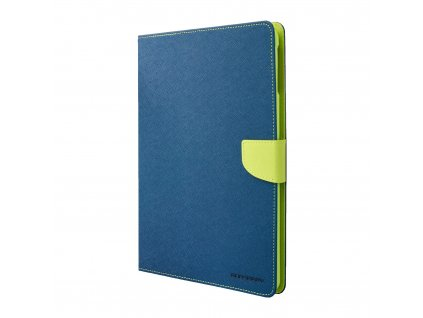 Pouzdro / kryt pro Apple iPad Air 1 - Mercury, Fancy Diary Navy/Lime