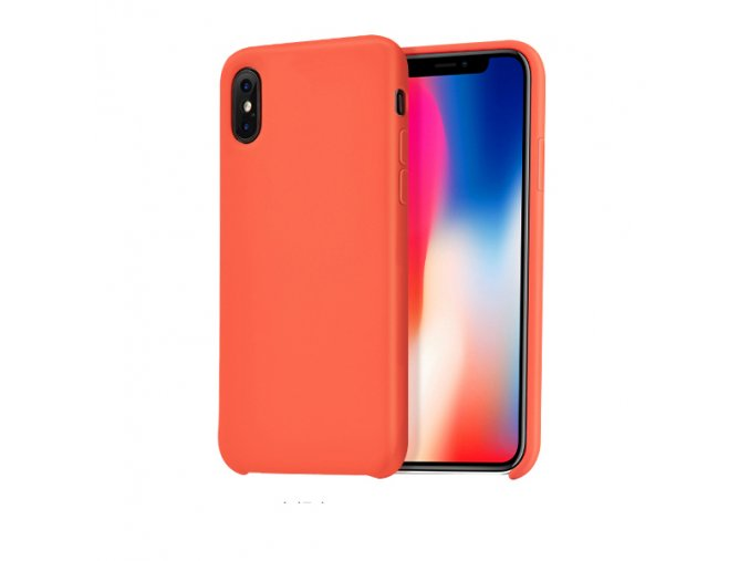 Ochranný kryt pro iPhone X - HOCO, Pure ApricotOrange