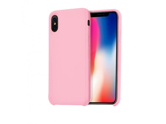 Ochranný kryt pro iPhone X - HOCO, Pure RosePink