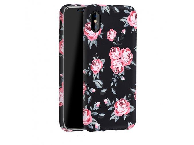 Ochranný kryt pro iPhone X - HOCO, Flowery Fresh Magnolia
