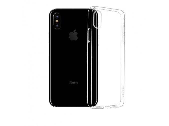 Ochranný kryt pro iPhone X - Hoco, Light Transparent
