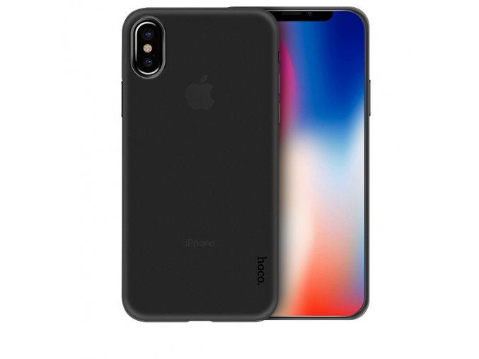 Ultratenký kryt pro iPhone X - Hoco, Ultrathin Black