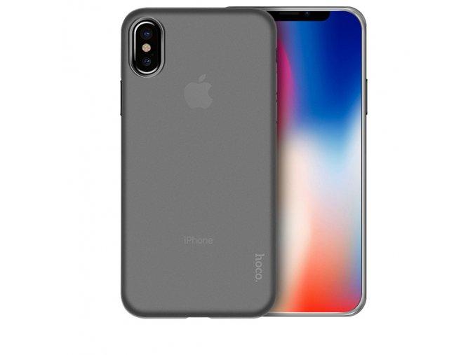 Ultratenký kryt pro iPhone X - Hoco, Ultrathin Transparent