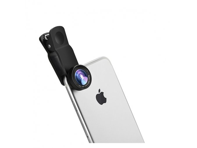 Objektiv pro iPhone - Hoco, PH6 Owl (Wide-angle and Macro lens)