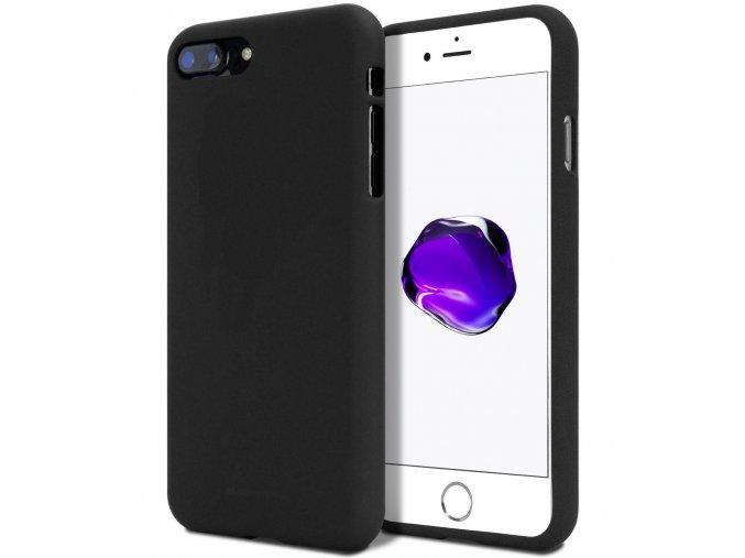 Ochranný kryt pro Apple iPhone 5 / 5S / SE - Mercury, Soft Feeling Black