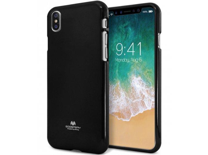 Ochranný kryt pro iPhone XS / X - Mercury, Jelly Case Black