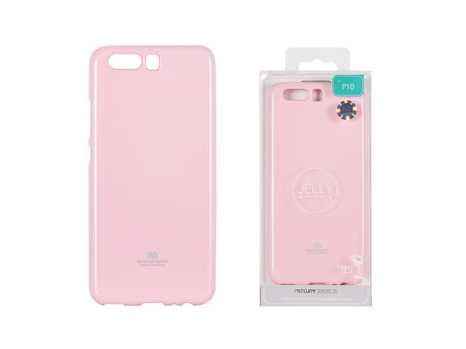 Pouzdro / kryt pro Huawei P10 - Mercury, Jelly Pink