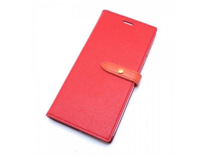 Pouzdro / kryt pro iPhone 5 / 5S / SE - Mercury, Romance Diary RED/ORANGE